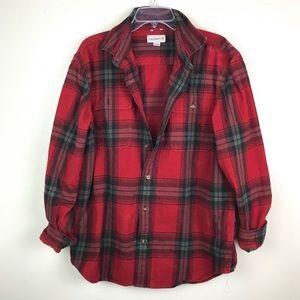 Carhartt | Heavy Flannel Button Front Shirt L